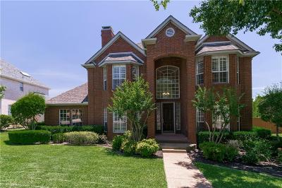 Irving Single Family Home Active Option Contract: 2208 Clearspring Drive S