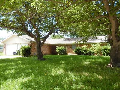 North Richland Hills Single Family Home Active Option Contract: 7905 Birchwood Drive