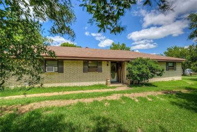 Terrell Single Family Home Active Option Contract: 19727 N State Highway 34