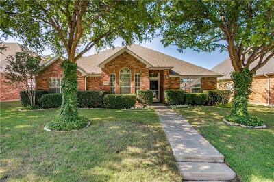 Frisco Single Family Home Active Option Contract: 1672 Marble Falls