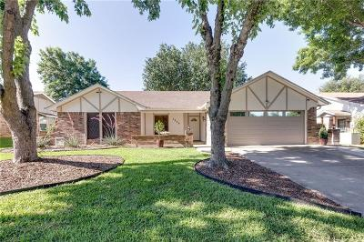 Bedford Single Family Home Active Option Contract: 2808 Live Oak Lane