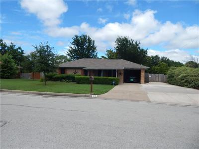 Burleson Single Family Home Active Contingent: 445 White Oak Lane