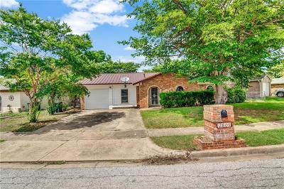 Fort Worth Single Family Home Active Option Contract: 2809 Eddie Place
