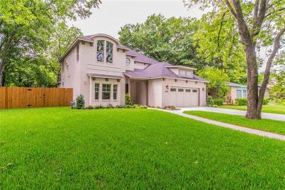 Fort Worth Single Family Home Active Option Contract: 3625 Shelby Drive