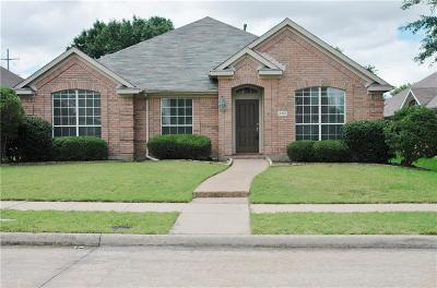 Plano Single Family Home Active Option Contract: 4312 Pearl Court