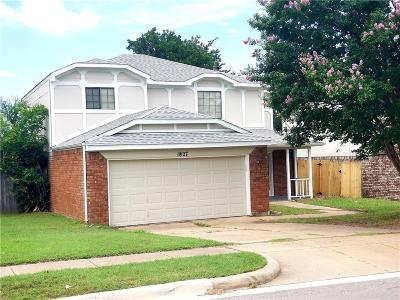 Grapevine Single Family Home For Sale: 1827 Sonnet Drive