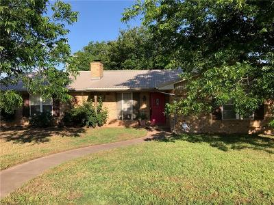 Baylor County Single Family Home Active Option Contract: 713 N Charles Street