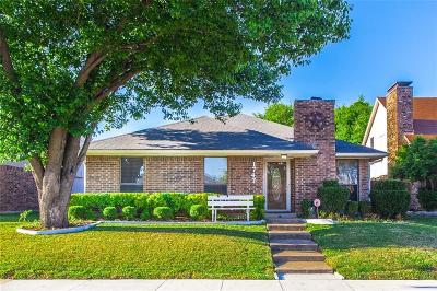 Carrollton Single Family Home Active Option Contract: 1747 Northview