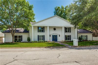 Fort Worth Single Family Home For Sale: 4767 Overton Woods Drive