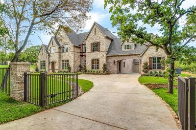 Keller Single Family Home For Sale: 1119 Mount Gilead Road