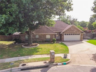 Keller Single Family Home For Sale: 1510 Southfork Drive