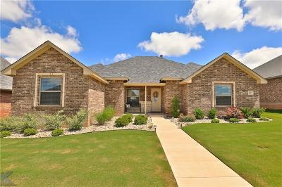 Abilene Single Family Home Active Option Contract: 4110 Forrest Creek Court
