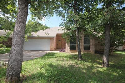 Azle Single Family Home Active Option Contract: 413 Meadowcrest Drive