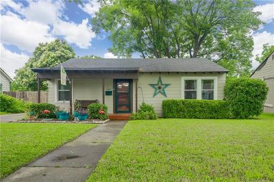 Garland Single Family Home Active Option Contract: 403 W Avenue E