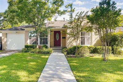 Dallas Single Family Home For Sale: 1731 Lansford Avenue