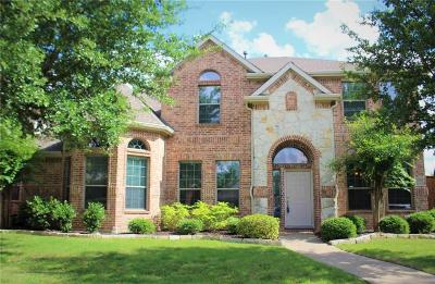 McKinney Single Family Home Active Option Contract: 6205 Flagstone Drive