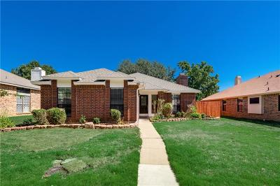 Lewisville Single Family Home Active Option Contract: 981 Downey Drive