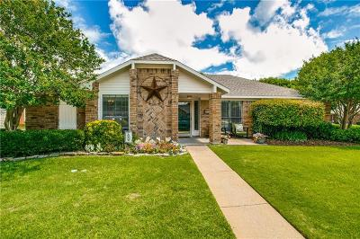 Coppell Single Family Home Active Option Contract: 601 Johnson Drive