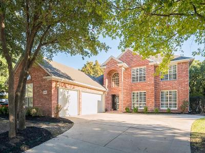 Keller Single Family Home For Sale: 1614 Forest Bend Lane