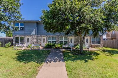 Denton Multi Family Home Active Option Contract: 604 Meadowview Court #1