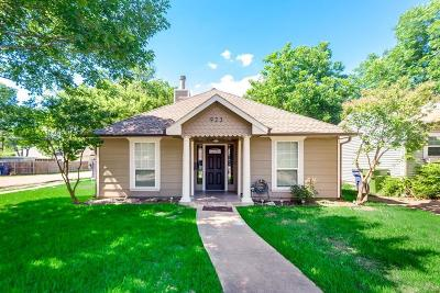 Garland Single Family Home Active Option Contract: 923 W Avenue G