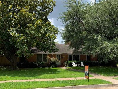 Preston Hollow, Preston Hollow Rev Single Family Home For Sale: 6426 Chevy Chase Avenue
