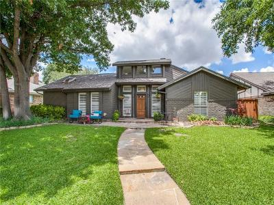 Richardson Single Family Home Active Option Contract: 1122 Stratford Drive
