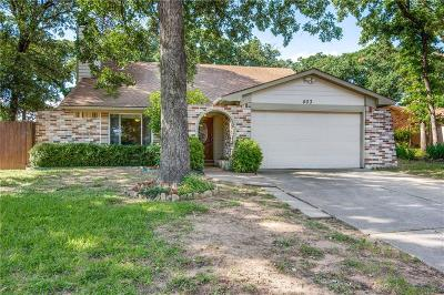 Euless Single Family Home Active Option Contract: 403 Lone Oak Circle