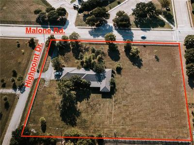 Allen Residential Lots & Land For Sale: 405 S Malone Road