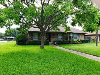 Garland Single Family Home Active Option Contract: 1511 Savannah Place