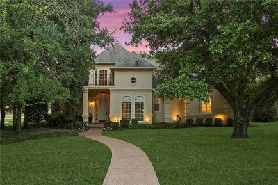 Southlake Single Family Home Active Option Contract: 115 Creekway Bend