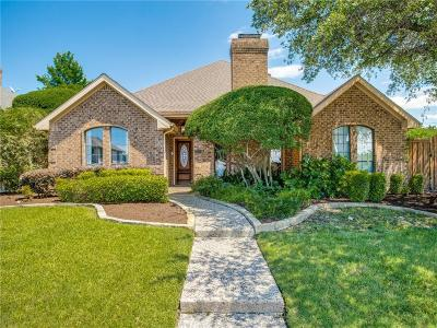 Carrollton Single Family Home For Sale: 1600 Sutters Mill Drive
