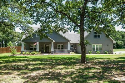 Azle Single Family Home For Sale: 424 Kimbrough Road