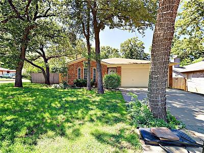Mansfield Single Family Home Active Option Contract: 1218 Hidden Creek Drive
