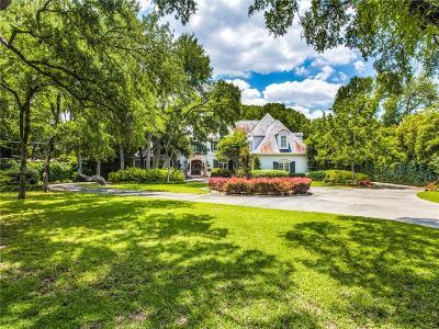 Dallas County Single Family Home For Sale: 4222 Cochran Chapel Road