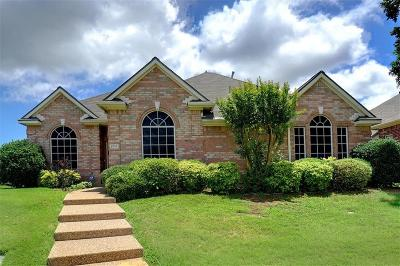 Lewisville Single Family Home Active Option Contract: 1715 Summerwind Court