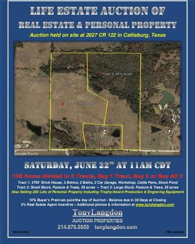 Cooke County Farm & Ranch For Sale: 2027 County Road 122 B