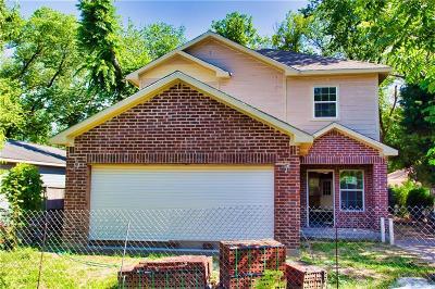 Dallas Single Family Home For Sale: 2616 Parsons Avenue