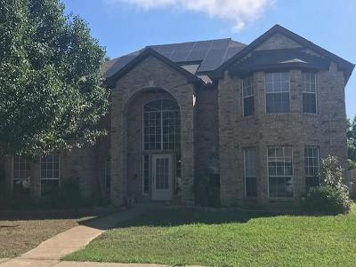 Mesquite Single Family Home For Sale: 1700 Trinity