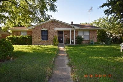 Garland Single Family Home For Sale: 4005 Cornell Drive