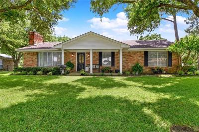 Kaufman Single Family Home Active Option Contract: 526 E 9th Street