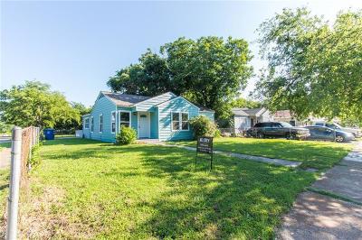Single Family Home For Sale: 2403 Hudspeth Avenue