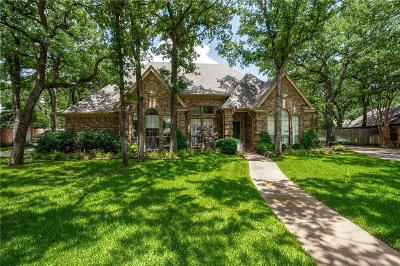 Keller Single Family Home Active Option Contract: 1304 Snow Mountain Circle