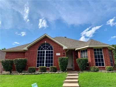Lewisville Single Family Home Active Option Contract: 413 Belmont Court