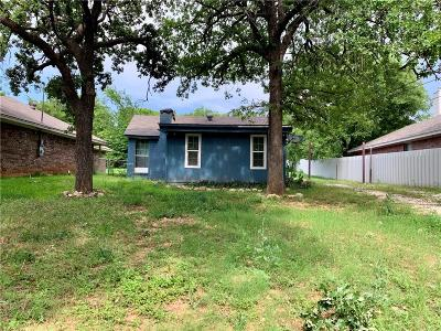 Single Family Home For Sale: 3320 Delaware Trail