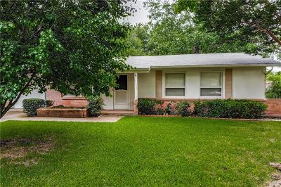 Farmers Branch Single Family Home Active Option Contract: 13310 Belfield Drive