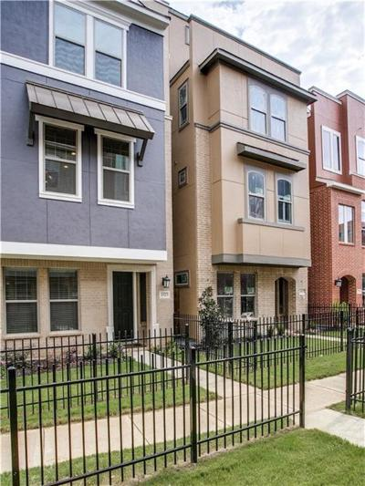 Dallas County Townhouse For Sale: 1323 Arch Place