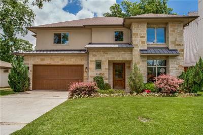 Dallas TX Single Family Home For Sale: $1,099,000
