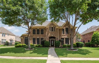 Keller Single Family Home Active Option Contract: 813 Clearwater Lane