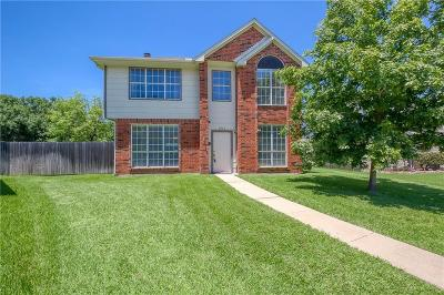 Flower Mound Single Family Home Active Option Contract: 1012 Lake Bluff Court